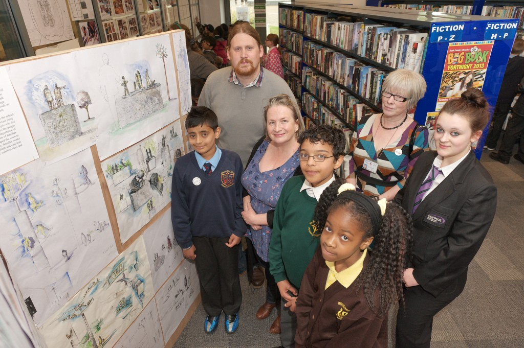 Wednesfield Library Consultation - James Clarke and Julie Edwards